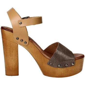 Schoenen Dames Sandalen / Open schoenen Tdl Collection 5374294 Brown leather