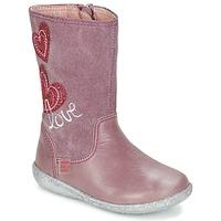 Schoenen Meisjes Hoge laarzen Agatha Ruiz de la Prada BIGI Roze