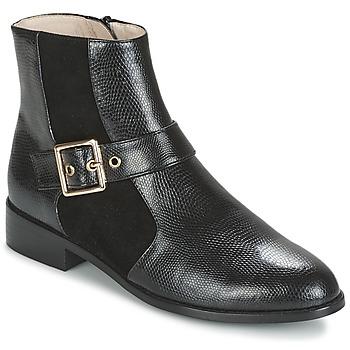 Schoenen Dames Laarzen Mellow Yellow ALDANA Zwart
