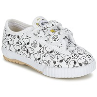 Schoenen Kinderen Lage sneakers Feiyue FE LO SNOOPY EC Wit