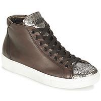 Schoenen Dames Hoge sneakers Tosca Blu ALEXA Brown / Zilver