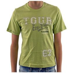 Textiel Kinderen T-shirts korte mouwen Diadora  Groen