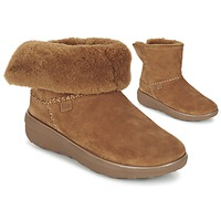 Schoenen Dames Laarzen FitFlop SUPERCUSH MUKLOAFF SHORTY NOISETTE