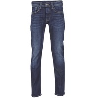 Textiel Heren Straight jeans Pepe jeans CASH Blauw / Donker