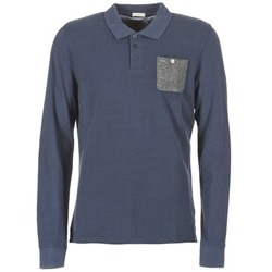 Textiel Heren Polo's lange mouwen Pepe jeans PRECIOUS Marine