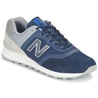Schoenen Lage sneakers New Balance MTL574 Blauw / Grijs