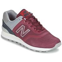 Schoenen Lage sneakers New Balance MTL574 Rood / Grijs