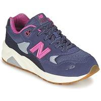 Schoenen Meisjes Lage sneakers New Balance KL580 Violet / Roze