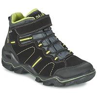 Schoenen Jongens Laarzen Primigi JACKSON Zwart / Groen