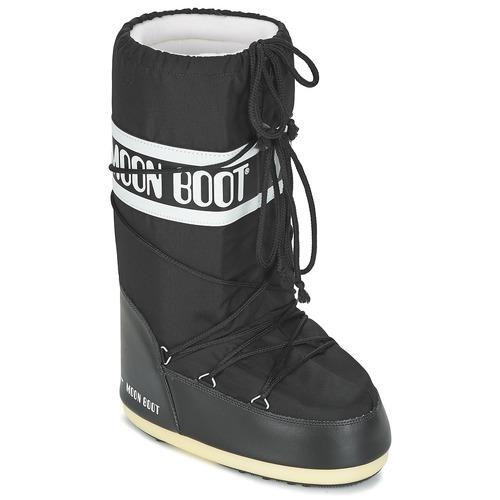 Schoenen Snowboots Moon Boot MOON BOOT NYLON Zwart