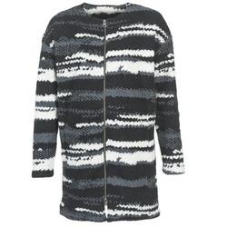 Textiel Dames Mantel jassen Bench EVENING Zwart / Wit / Grijs