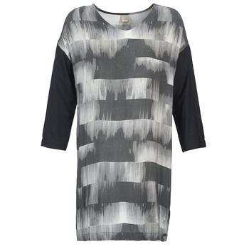 Textiel Dames Korte jurken Bench CRISP Zwart / Grijs