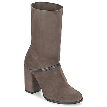 Schoenen Dames Hoge laarzen Castaner CAMILA Brown