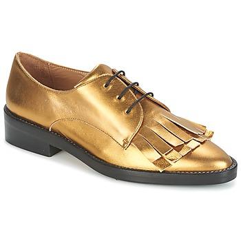 Schoenen Dames Derby Castaner GERTRUD Gold