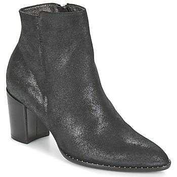 Schoenen Dames Enkellaarzen France Mode OLFY Zwart