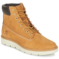 Schoenen Dames Laarzen Timberland KENNISTON 6IN LACE UP Graan