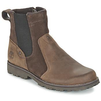 Schoenen Kinderen Laarzen Timberland ASPHALT TRAIL CHELSEA Brown