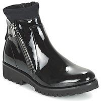 Schoenen Dames Laarzen Regard REJABI Zwart / VERNI