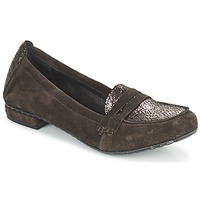 Schoenen Dames Mocassins Regard REMAVO Brown