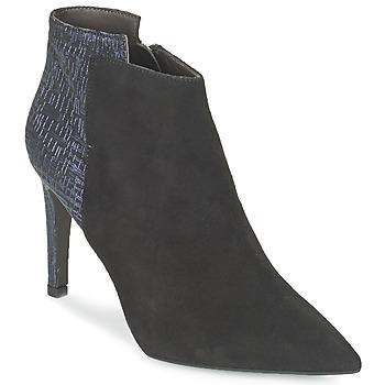 Schoenen Dames Enkellaarzen Perlato GUELOME Zwart