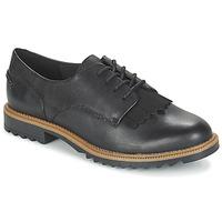 Schoenen Dames Derby Clarks GRIFFIN MABEL Zwart