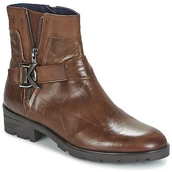 Schoenen Dames Laarzen Dorking NALA Brown