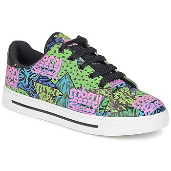 Schoenen Dames Lage sneakers Marc by Marc Jacobs MBMJ MIXED PRINT Multikleuren
