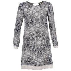 Textiel Dames Korte jurken Cream BARBRA Marine / Wit