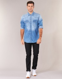 Textiel Heren Skinny jeans Lee RIDER Zwart