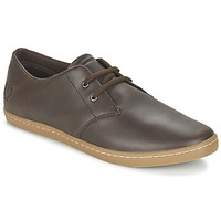 Schoenen Heren Lage sneakers Fred Perry BYRON LOW LEATHER Brown