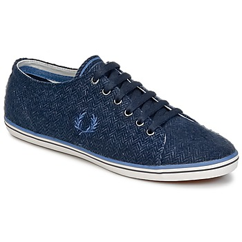Schoenen Heren Lage sneakers Fred Perry KINGSTON TWEED Marine