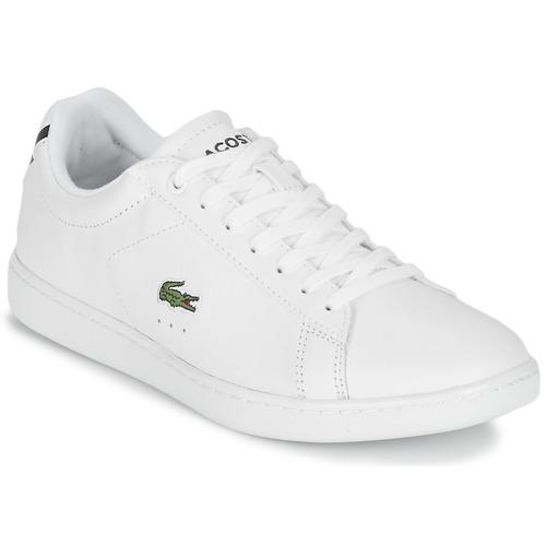 Chaussures Lacoste Blanc Pour Les Femmes 1eDVNiH