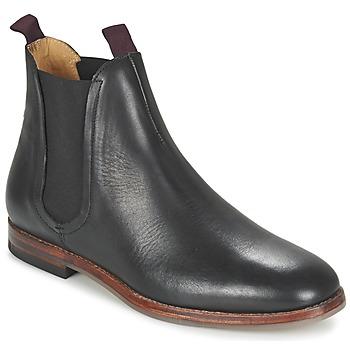 Schoenen Heren Laarzen Hudson TAMPER CALF Zwart