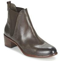 Schoenen Dames Enkellaarzen Hudson COMPUND CALF Brown