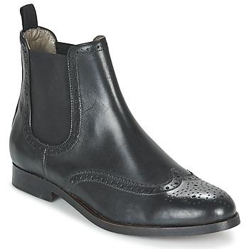 Schoenen Dames Laarzen Hudson ASTA CALF  zwart