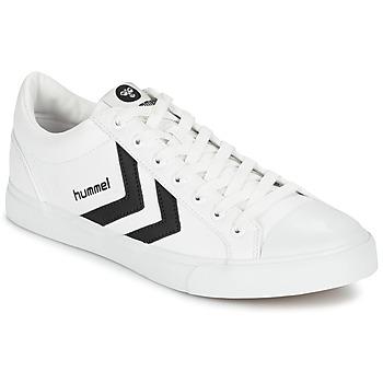 Schoenen Lage sneakers Hummel DEUCE COURT SPORT Wit