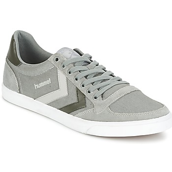 Schoenen Lage sneakers Hummel TEN STAR DUO CANVAS LOW Grijs
