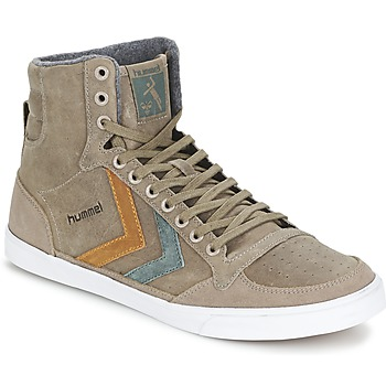 Schoenen Hoge sneakers Hummel TEN STAR DUO OILED HIGH Brown