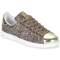Schoenen Dames Lage sneakers Victoria DEPORTIVO BASKET GLITTER Multicolour