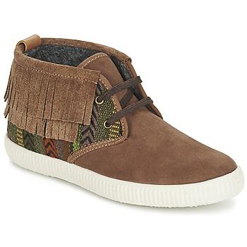 Schoenen Dames Hoge sneakers Victoria SAFARI FLECOS ANTELINA ETNIC Brown