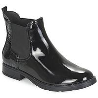 Schoenen Meisjes Laarzen Geox SOFIA Zwart