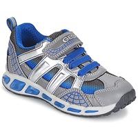 Schoenen Jongens Lage sneakers Geox SHUTTLE BOY Grijs / Blauw