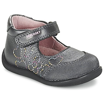 Schoenen Meisjes Ballerina's Pablosky JOUBEK Grijs