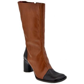 Schoenen Dames Hoge laarzen Bocci 1926  Brown