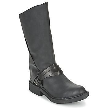 Schoenen Dames Hoge laarzen Blowfish FENNI Zwart