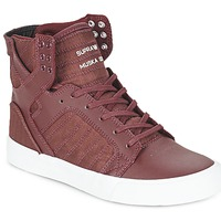 Schoenen Hoge sneakers Supra SKYTOP Bordeaux