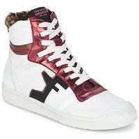 Schoenen Dames Hoge sneakers Serafini SAN DIEGO Wit / Rood