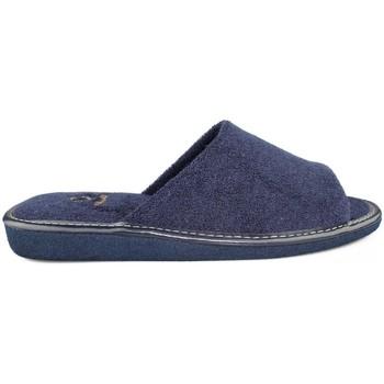 Schoenen Heren Sloffen Vulladi SCARPE FERRO DA CASA  TOWEL MAN BLUE