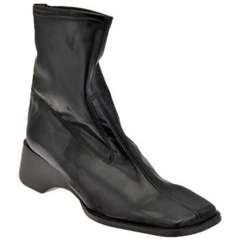 Schoenen Dames Enkellaarzen Bocci 1926  Zwart