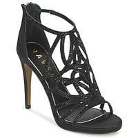 Schoenen Dames Sandalen / Open schoenen Ravel BLANCO Zwart / SATIN